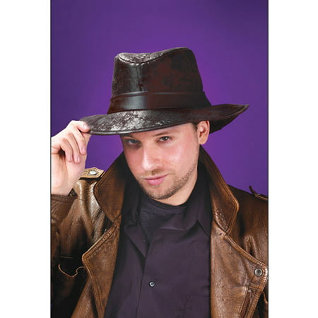 Black Fedora Adult Halloween Accessory