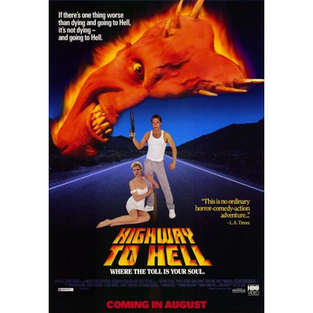 - Highway to Hell (1992) 11x17 Movie Poster