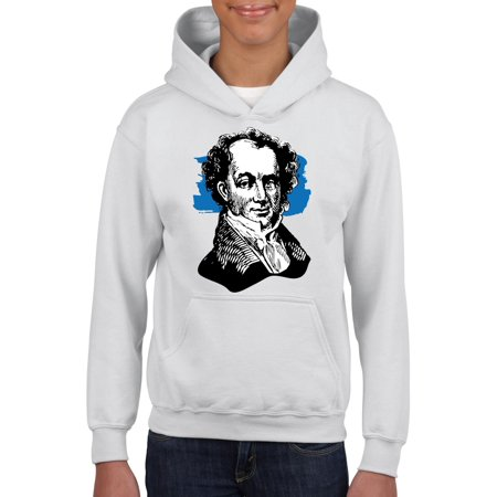 Martin Van Buren American President Unisex Hoodie For Girls and Boys Youth Sweatshirt for $<!---->