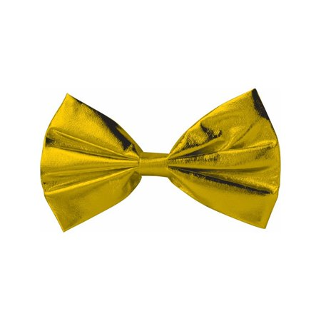 Halloween Costume Accessory Gold Bow Tie