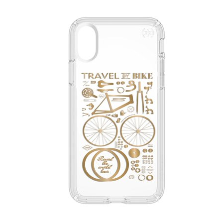 promo code 80be2 a44df PRESIDIO CLEAR + PRINT IPHONE X CASES CITY BIKE METALLIC GOLD YELLOW