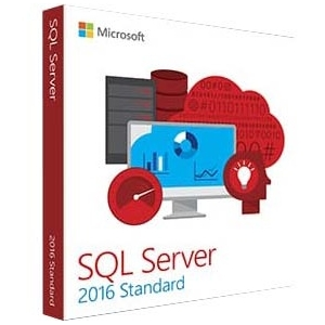 Microsoft SQL Server 2016 Standard Edition - 10 Client, 1 License