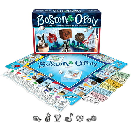 Late for the Sky Boston-opoly - Boston Bruins Game