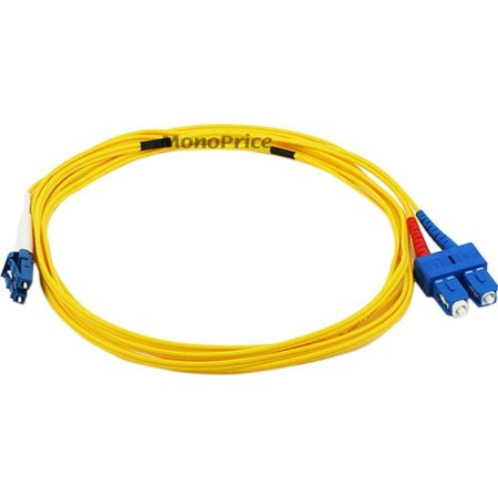 Lc Fibre Channel Cable - Monoprice Fiber Optic Cable - 3 Meter - Yellow | LC to SC, 9/125 Type, Single Mode, Duplex