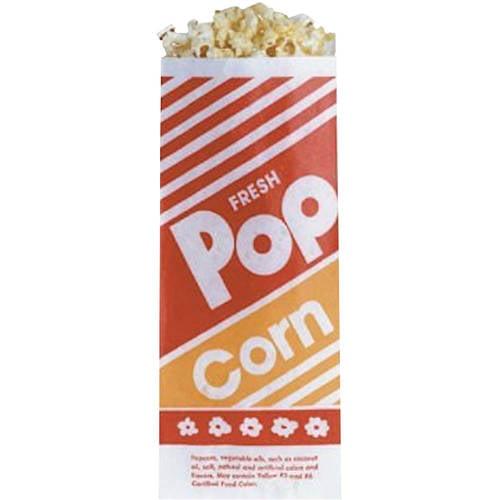 Hoosier Hill Farm 8 Inch Popcorn Bags, 100 count
