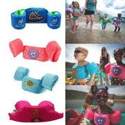 Cartoon Life Jacket Safety Vest Puddle Jumper Swimming Snorkeling For Kids Baby