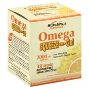 Sundown Naturals Complete Omega Dietary Supplement, 1400mg, 90ct