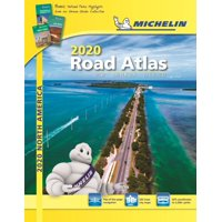 Michelin north america road atlas 2020: usa, canada and mexico (other): 9782067237186