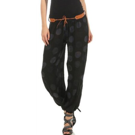 Womens Baggy Harem Pants Yoga Gym Dance Hippie Boho Gypsy Palazzo Trousers