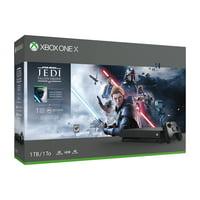 Microsoft Xbox One X 1TB Star Wars Jedi: Fallen Order™, Black, CYV-00411
