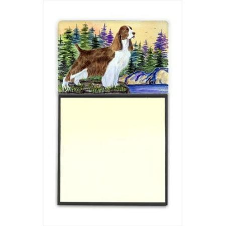 Springer Spaniel Refiillable Sticky Note Holder or Postit Note Dispenser, 3 x 3 In. - image 1 of 1