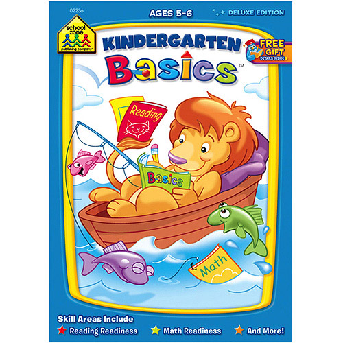 Workbooks Kindergarten Basics, Ages 5-6