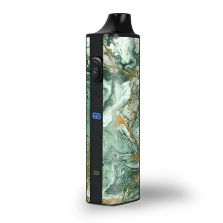 Skin Decal for Pulsar APX Herb Vape / Marble Paint Swirls green](Paint Swirls)