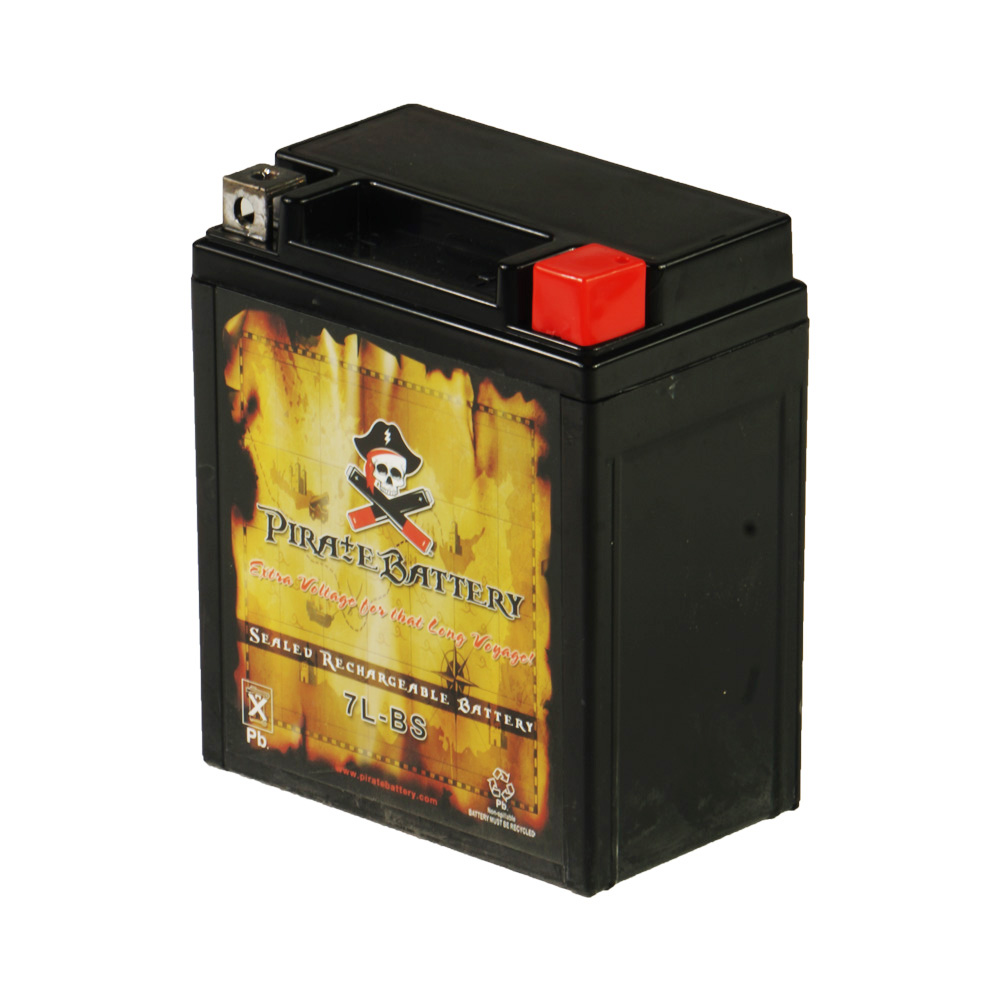 YTX7L-BS Motorcycle Battery for Honda 250cc CMX250C Rebel 1996