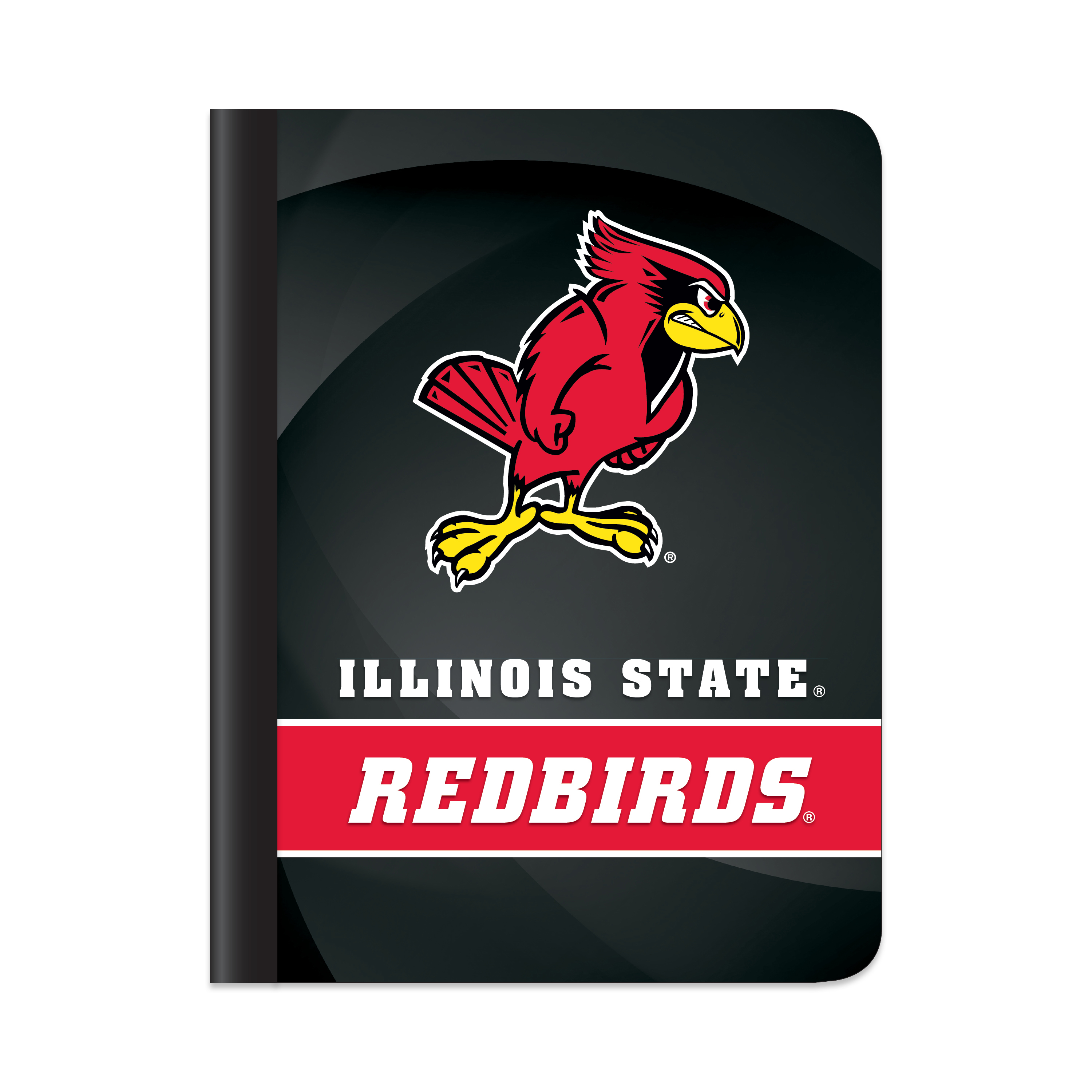 "NCAA Illinois State Redbirds Composition Book, 7.5"" by 9.75"", 100 Sheets, College Rule"