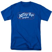 Astro Pop Vintage Logo Mens Short Sleeve Shirt