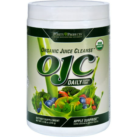 Purity Products Organic Juice Cleanse Powder, Apple Surprise, 8.5 Oz