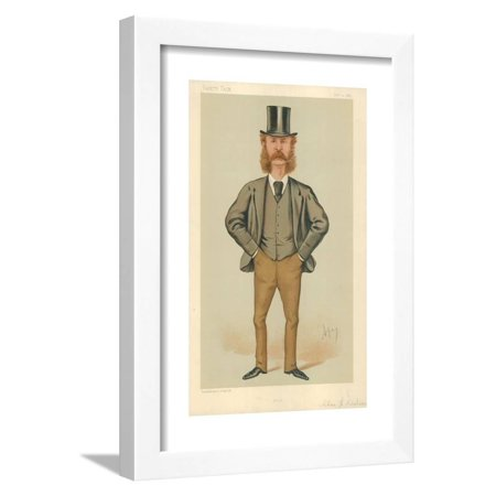 Mr Charles Henry Wilson, Hull, 21 February 1885, Vanity Fair Cartoon Framed Print Wall Art By Carlo Pellegrini