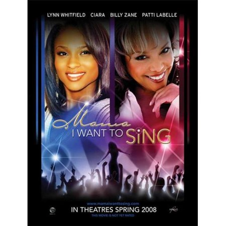 Posterazzi MOVCI3831 Mama I Want to Sing Movie Poster - 27 x 40 in. - image 1 de 1