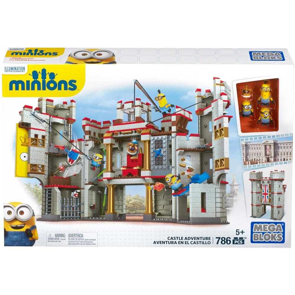 Mega Bloks Despicable Me Castle Adventure by Mattel