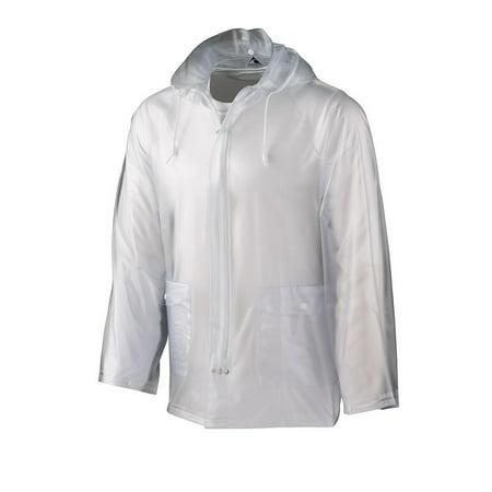 3160 Clear Rain Jacket CLEAR (Clear Nylon Coat)