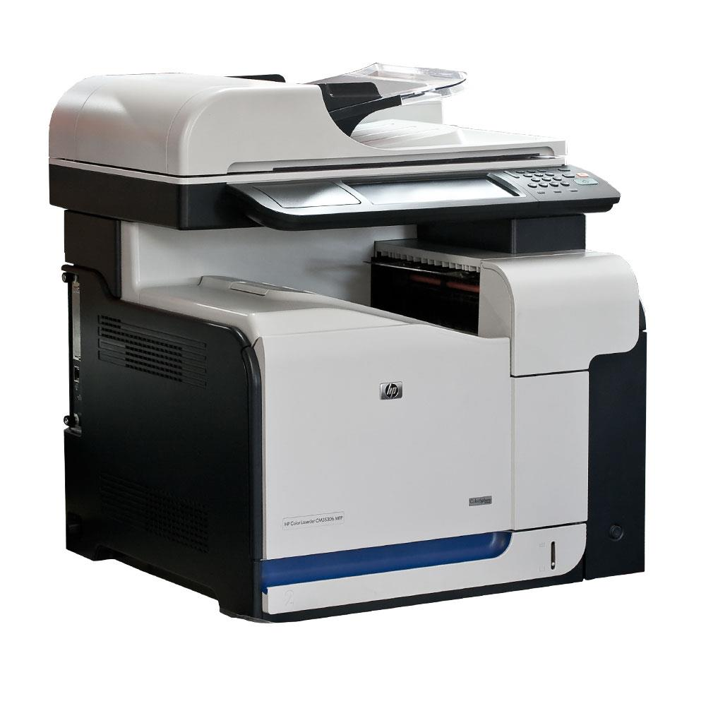 HP CC519AABA - NEW Laserjet CM3530 Multifunction Printer