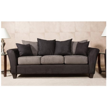Chelsea Home Mansfield Sofa With 4 Accent Pillows