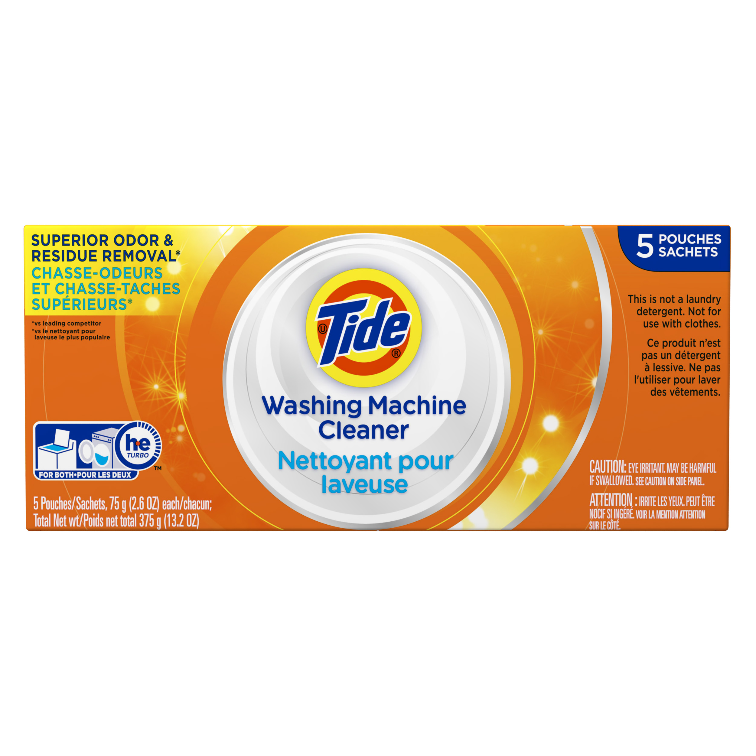 Tide Washing Machine Cleaner, 5 count