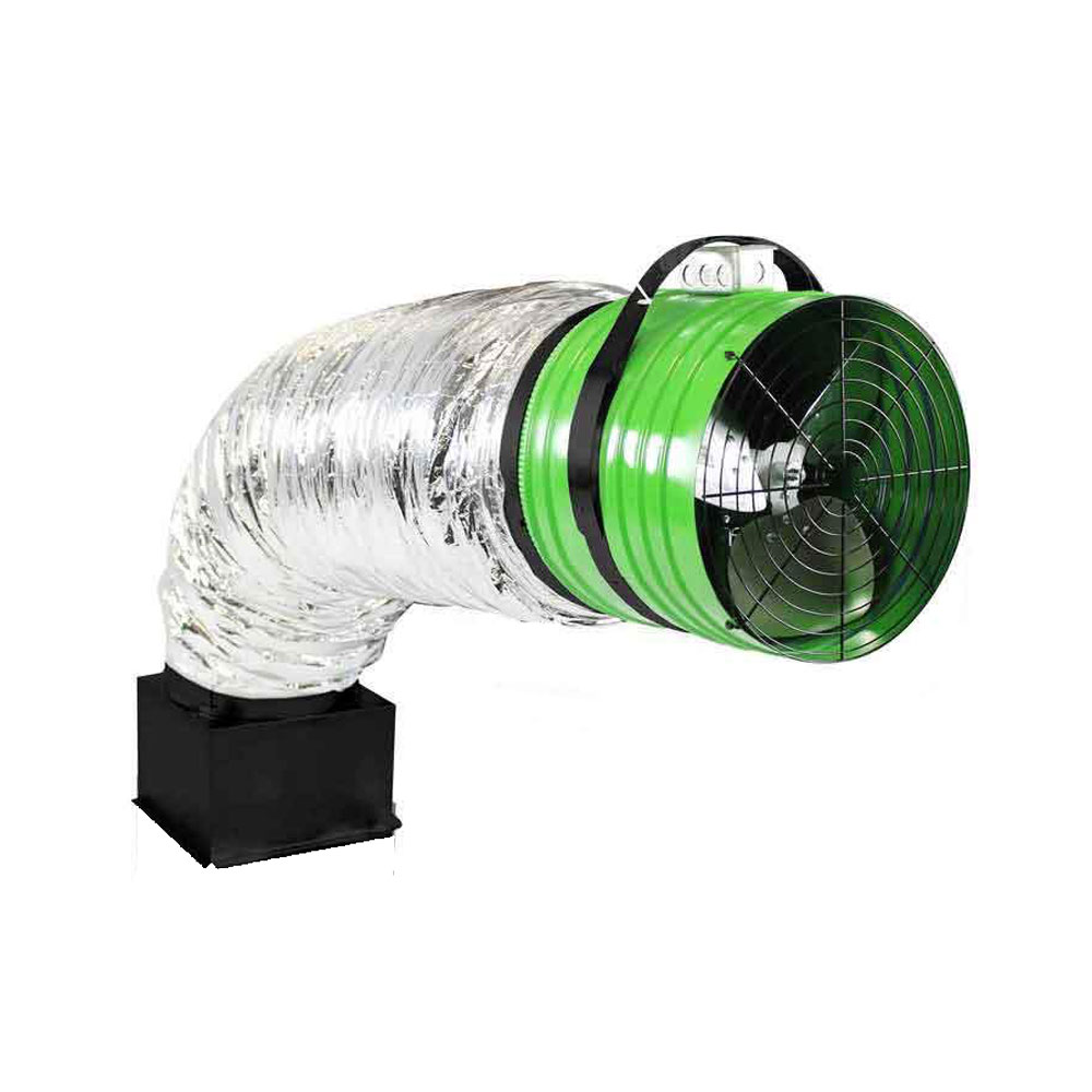 QuietCool QC ES 6000 CFM Energy Saver Advanced Whole House Fan Cooling System