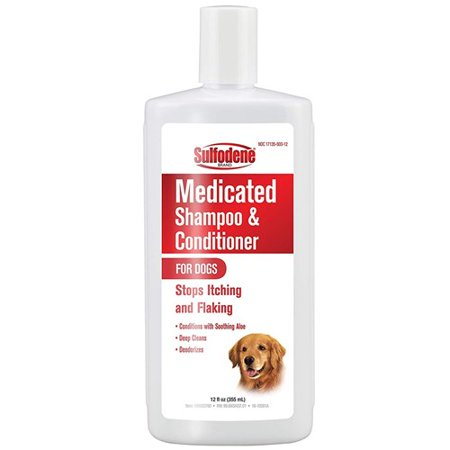 Sulfodene 100523760 Medicated Shampoo for Dogs