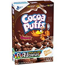 General Mills Cocoa Puffs Now With 50% More Real Cocoa 11.8 Oz. Pk Of -