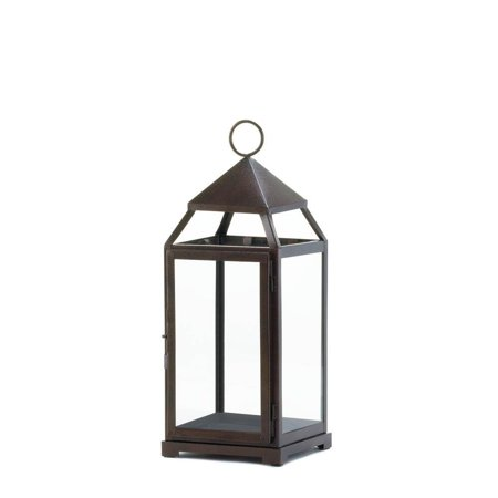 outdoor lantern, Large Contemporary hanging metal decorative lantern (Meadow Outdoor Large Hanging Lantern)