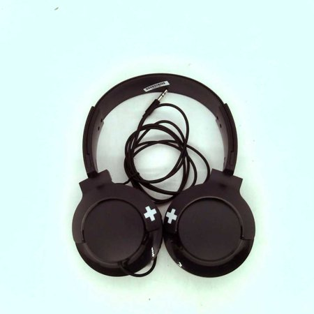 Refurbished Philips on Ear DJ Headphones - Black Phillips Ear Headphones