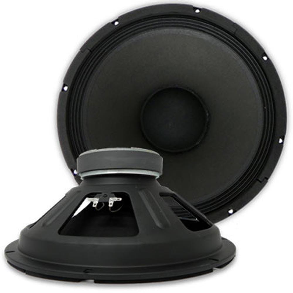 "Seismic Audio PAIR  15"" PA/DJ RAW WOOFER SPEAKER 500 W. - Denali-15Pair"