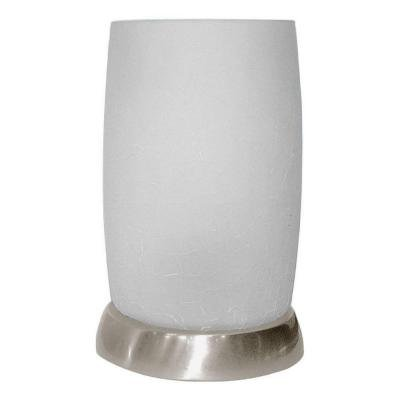 "8.5 In. Accent Lamp 8.5""h x 6""w x 6""d Silver Metallic, 8.5 in. Accent Lamp By Hampton Bay by"