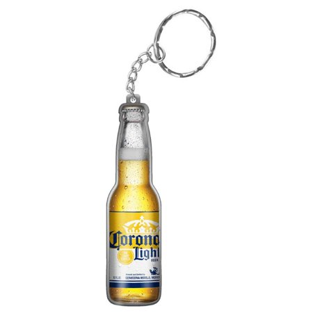 Light Beer Bottle Keychain Opener, Officially licensed Corona Extra product By Corona From USA