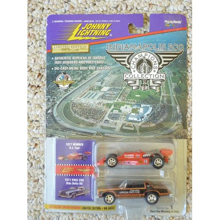 Johnny Lightning Indianapolis 500 Champions Collection 1977 AJ Foyt, Authentic Replicas of Famous Indy Winners and Pace Cars! By Johnny Lightning Playing -