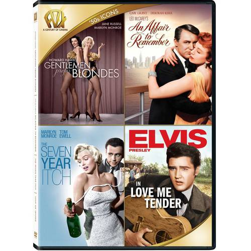 50s Icons: Gentlemen Prefer Blondes   An Affair To Remember   The Seven Year Itch   Love Me Tender by Twentieth Century Fox