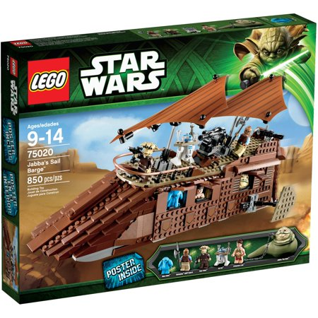 Lego star wars jabba 39 s sail barge play set - Lego star wars 1 2 3 4 5 6 ...
