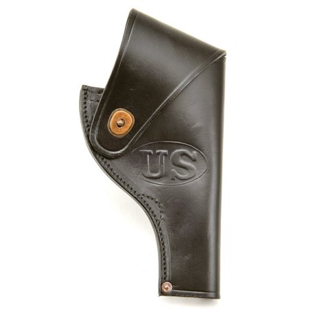 - US Smith & Wesson Victory Model Revolver Holster in Black Leather .38 Special Marked JT&L MRT June 1966 …