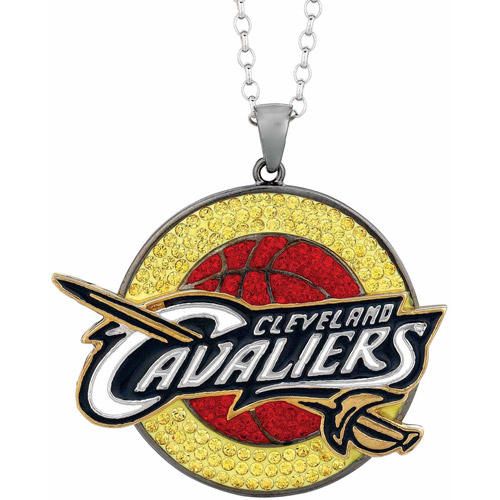 Nba Stainless Steel Swarovski Crystal Me