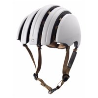 Brooks Carrera Packable - J.B. Collection Ivory/Black Foldable Helmet Size M