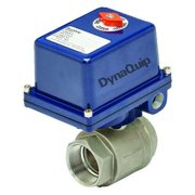 DYNAQUIP CONTROLS Electronic Ball Valve,SS,3/4 In. E2S24AJE23