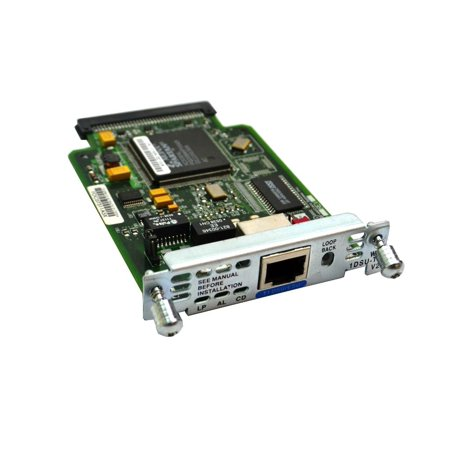 WIC-1DSU-T1-V2 Cisco 1-PORT Csu/Dsu WAN Module Interface Card 800-22193-01 A0 Network Switches & Management - Used Very Good