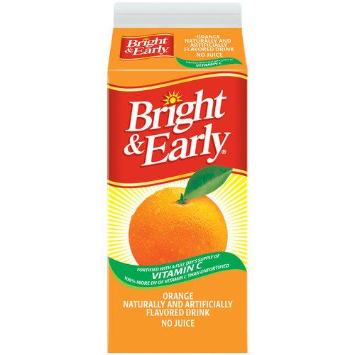 Bright & Early Orange Flavored Drink, 59 fl oz