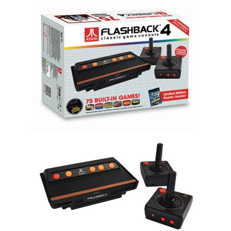 Atari flashback 4 retro game console electronic games - Atari flashback 3 classic game console ...