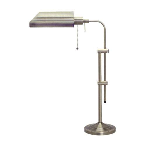 Cal Lighting BO-117TB Pharmacy 1 Light Pedestal Base Desk Lamp by CAL Lighting