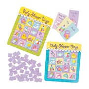 Baby Shower Bingo Game (8 Players) - Toys - 12 Pieces
