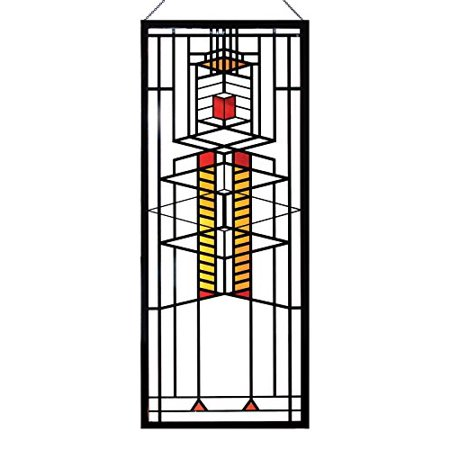 14 Stained Glass (Frank Lloyd Wright Robie Window Stained Glass - 14