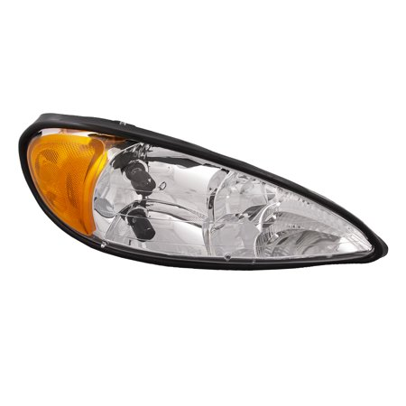 1999-2005 Pontiac Grand Am New Passenger Side Headlight -